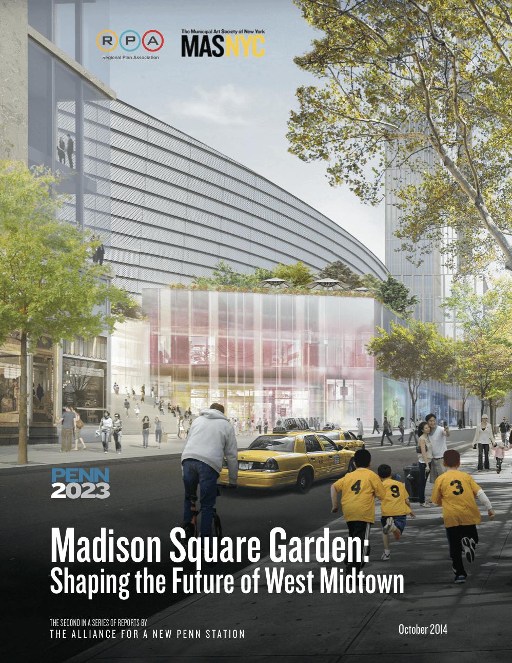 Real Transit – Madison Square Garden Plan